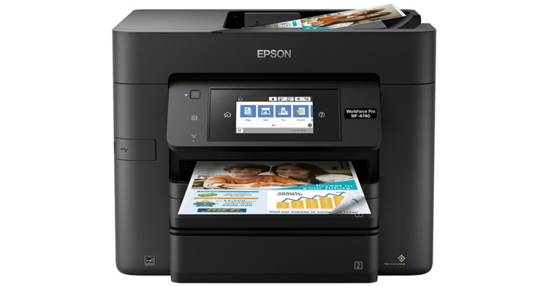 Epson WorkForce Pro WF-4740 Printer - Best All In One Color Inkjet Printer