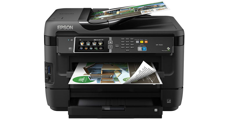 Epson WorkForce WF-7620 - Best All In One Color Inkjet Printer