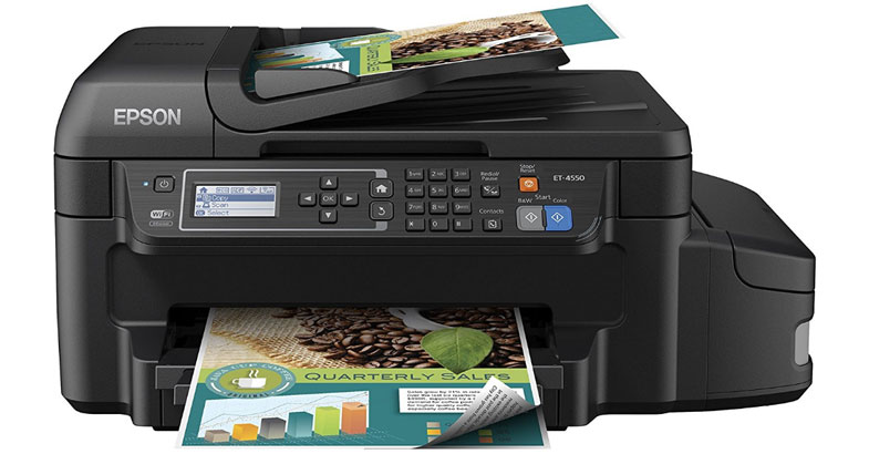 Epson WorkForce ET-4550 - Best All In One Color Inkjet Printer