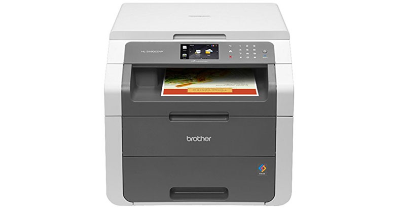 Brother Wireless Digital Color Printer - HL-3180CDW - Best All In One Color Laser Printer