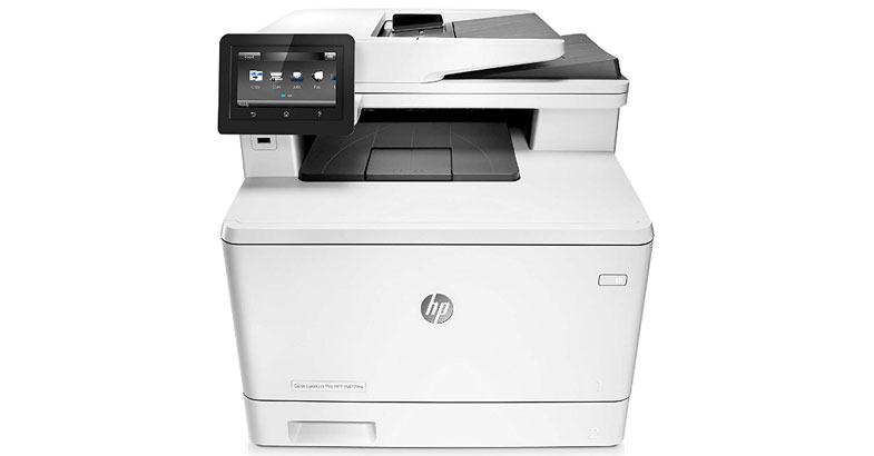 HP LaserJet Pro M477fdw - Best All In One Color Laser Printer